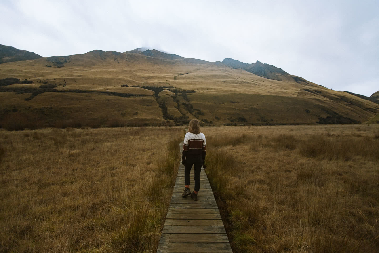 Walking, Swimming & Camping At Moke Lake // Queenstown (NZ), photo by Cedric Tang, Melody tang, hiking, moody, faded, queenstown, NZ
