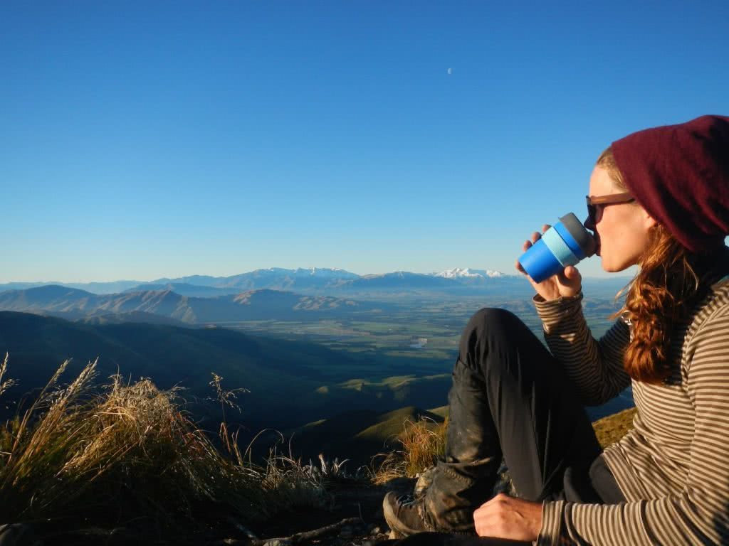 Check Out These Epic Views And Delicious Brews, Myrthe Braam, New Zealand, coffee, mountains