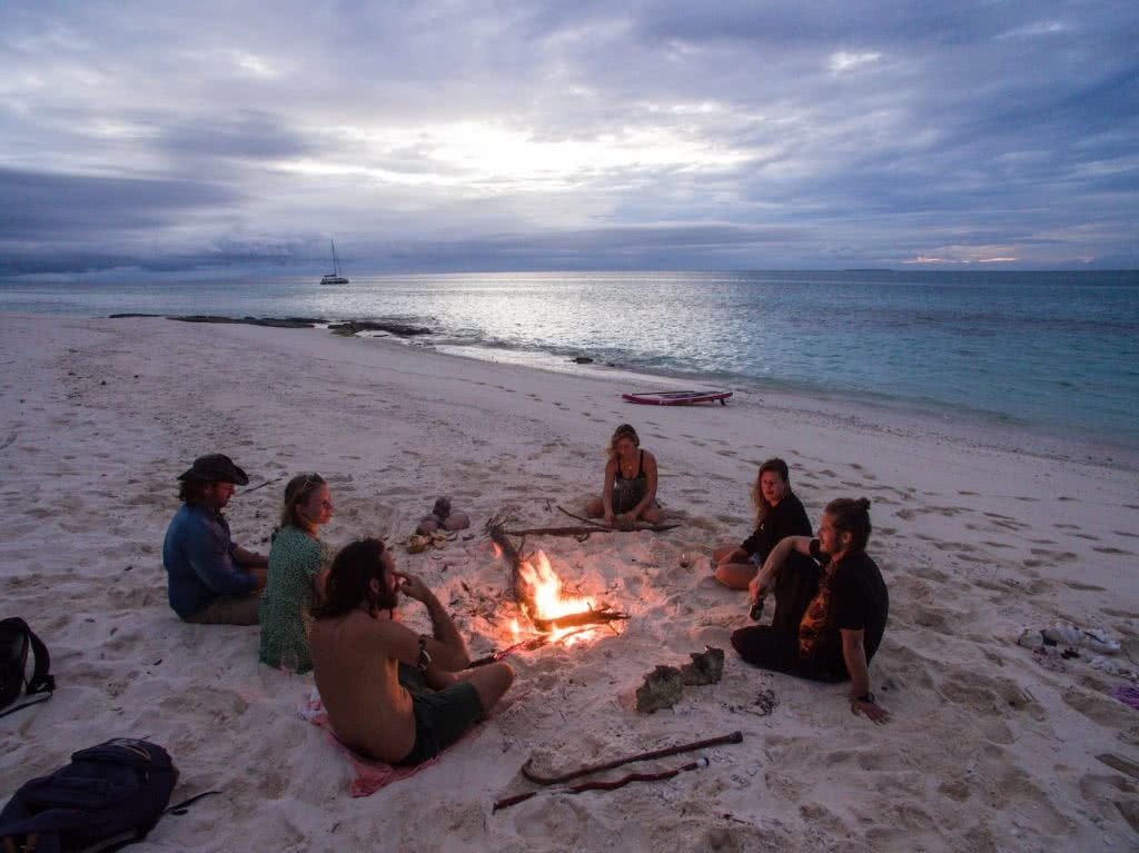 How Much Do You Really Know About New Caledonia?, photo supplied by New Cal tourism, people, beach, ocean, fire