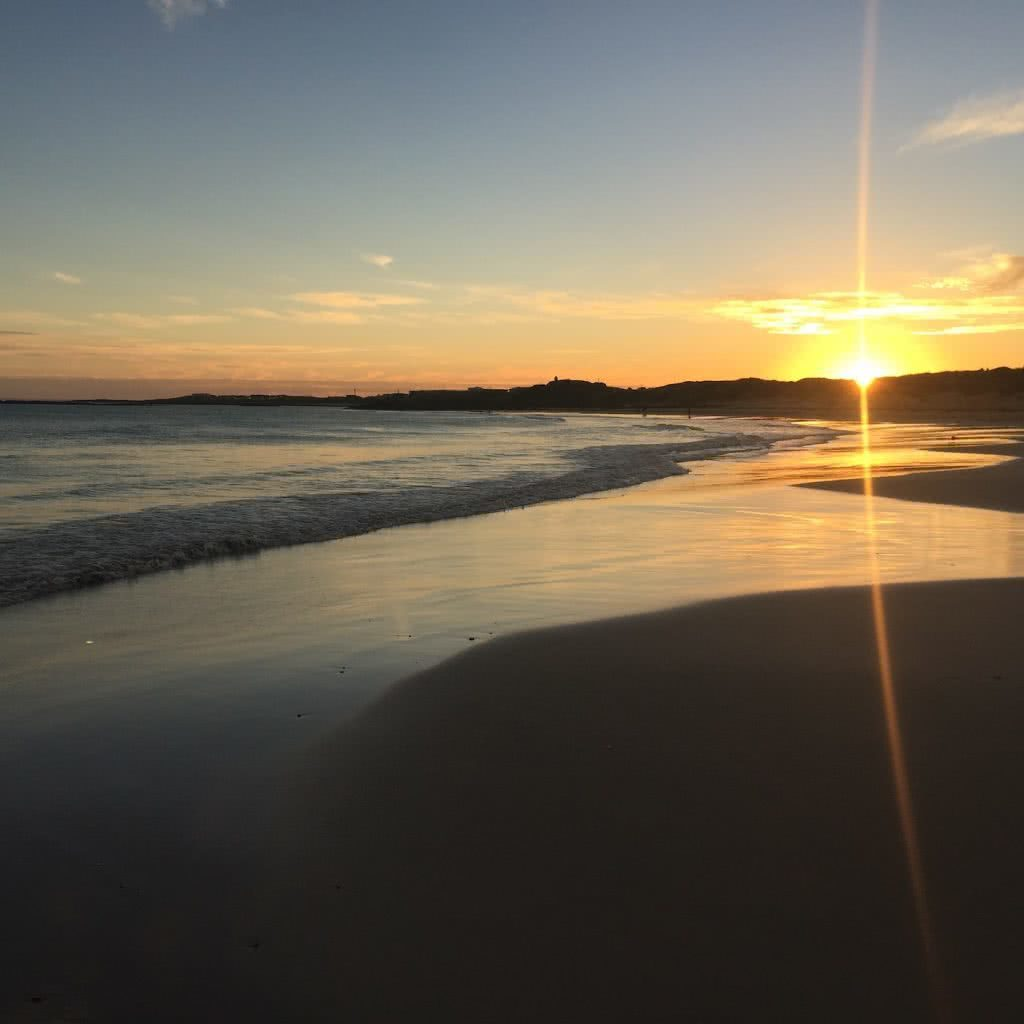 Let Your Imagination Run Wild On Pea Soup Beach // Port Fairy (VIC), Nick Grimmer, beach, sunset, water, sand