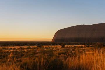 How To Drive From Adelaide To Uluru The Explorer's Way, Adrian Mascenon, Uluru Sunrise, desert, red dirt