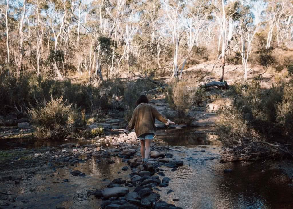 8 Great Reasons To Take Your Mates To Eurobodalla, photo by Fin Matson, Big Hole, Berlang Campgrounds, Shoalhaven River, river crossing, rocks