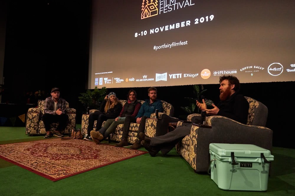 What Makes The Port Fairy Adventure Film Festival So Special?, photo by Pat Corden, talk panel