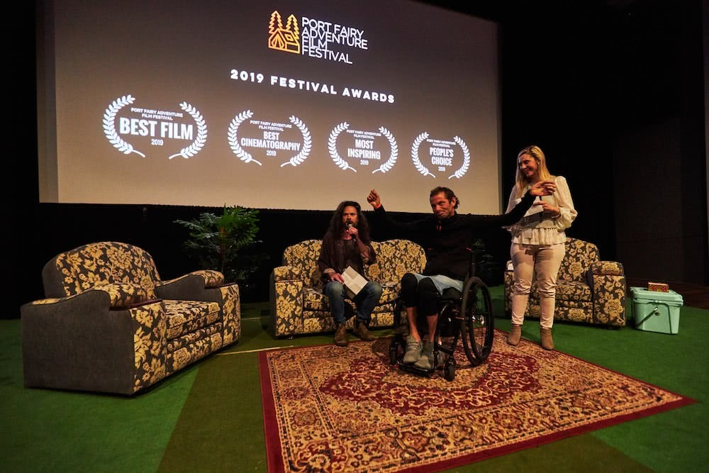 What Makes The Port Fairy Adventure Film Festival So Special?, photo by Pat Corden, jezza, winner!