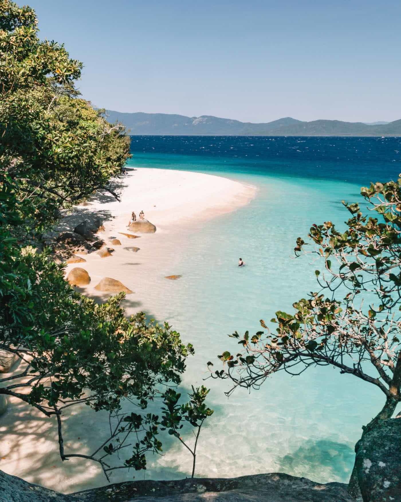Find Your Paradise On Fitzroy Island (QLD), Scott Pass, Nudey Beach, sand, sea, water, swimming