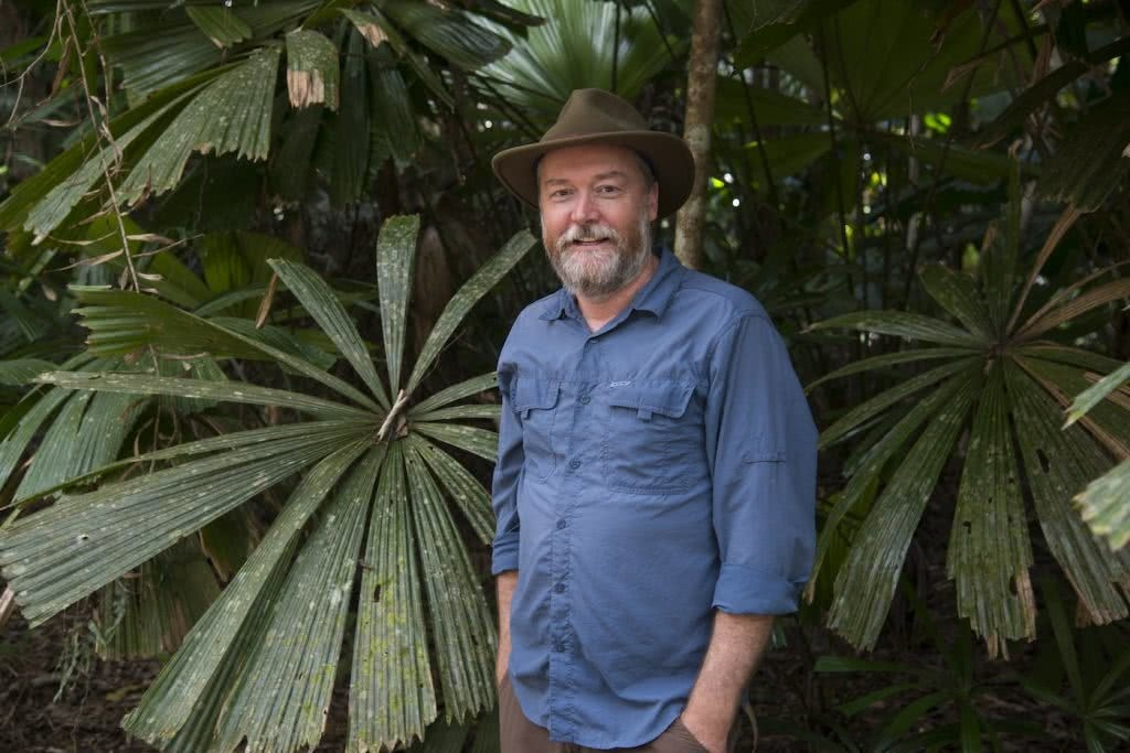 Protecting The Earth's Oldest Rainforest // Interview With Kelvin Davies, photo by Steven Nowakowski, Kelvin, Daintree, palm
