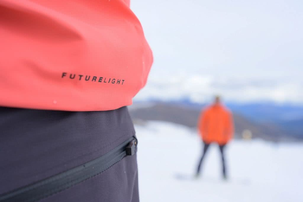 Just How Revolutionary Is FUTURELIGHT Waterproof Breathable Gear? We Tested It Out In NZ, photo by Mark watson, the Remarkables, The North Face, New Zealand, skiing