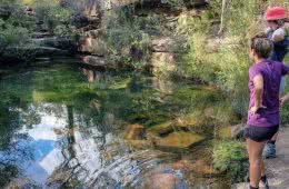 Take A Dip In The Emerald Pools // Popran National Park (NSW), Brooke Nolan, women, swimming hole, river, creek, bush