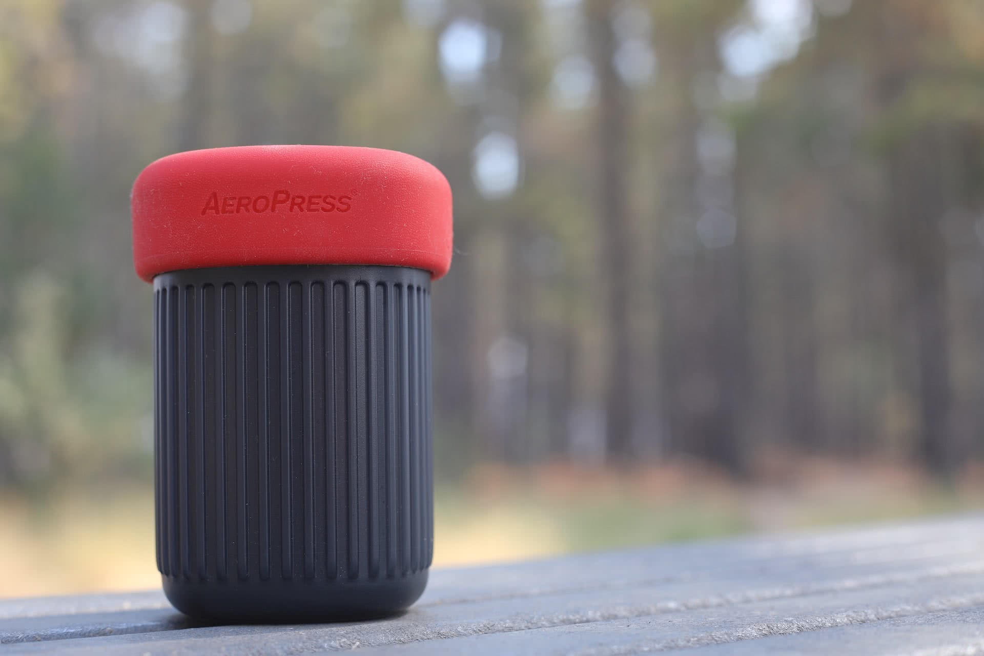 AeroPress Go // Gear Review, photo by Mattie Gould, coffee, gear, packed up