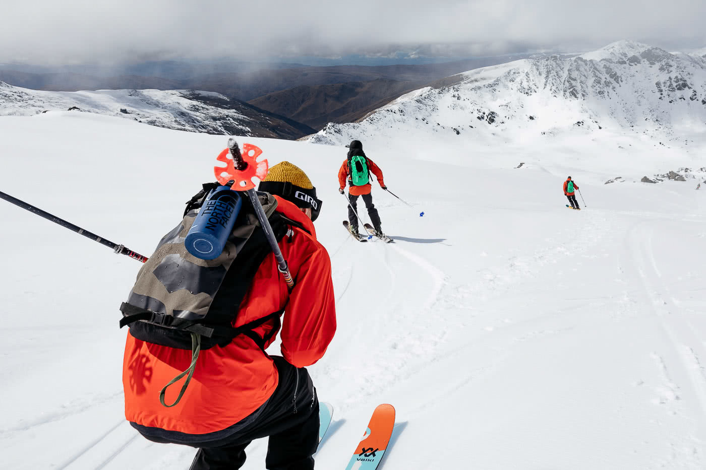 These Backcountry Lines Are Less Than An Hour From Queenstown, photo by Mark Clinton. the north face, FUTURELIGHT, backcountry, skiing, south island, queenstown, tuck, sam smoothy