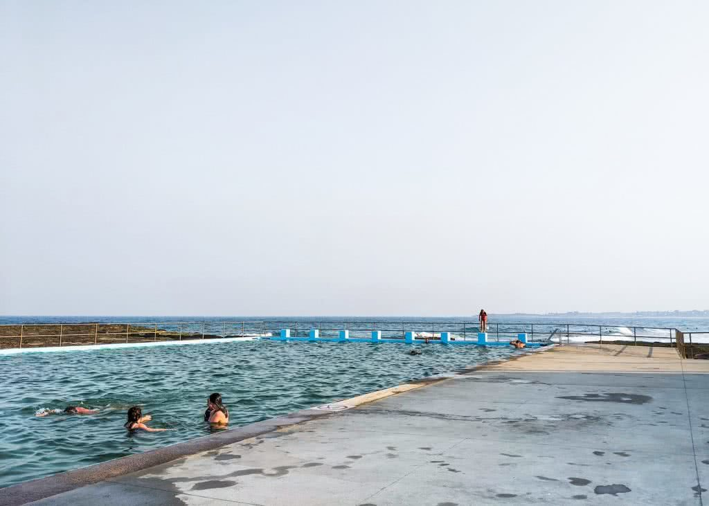 Swim In One Of These Illawarra Ocean Pools This Summer, Amy Fairall, Woonona, pool, swimmers, diving blocks, ocean