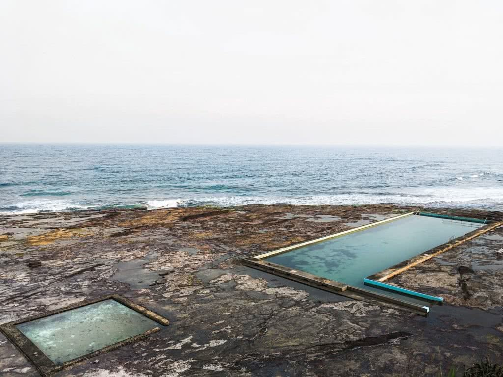 Swim In One Of These Illawarra Ocean Pools This Summer, Amy Fairall, Coledale, pool, ocean, rocks, swim