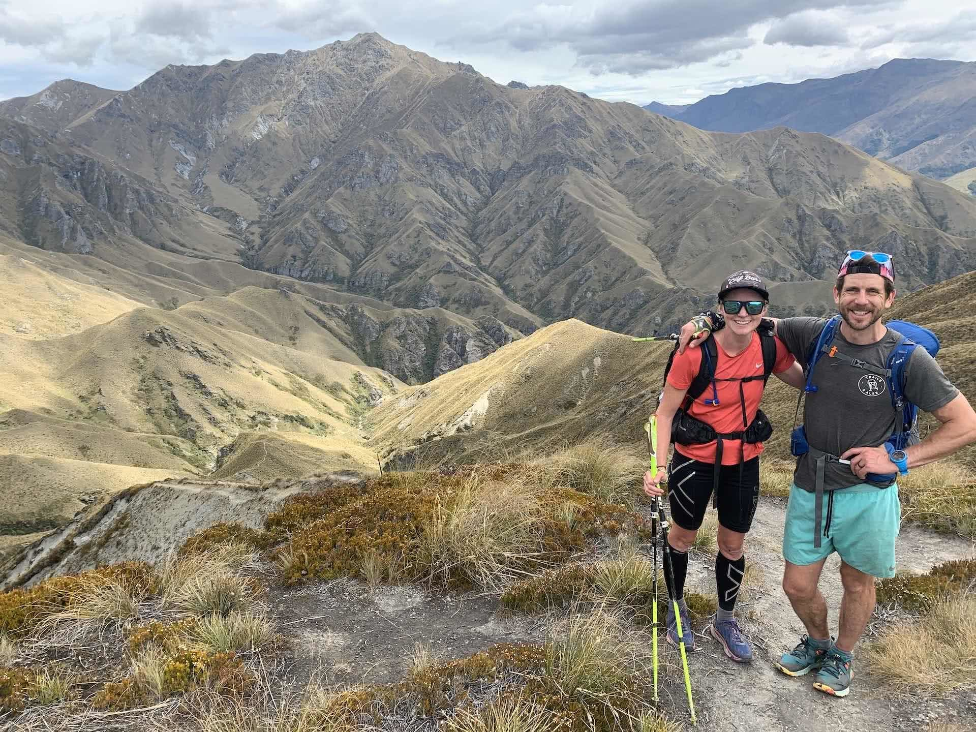 Lucy Clark Has Run New Zealand In 66 Days, lucy clark, te araroa, fastest known time, new zealand