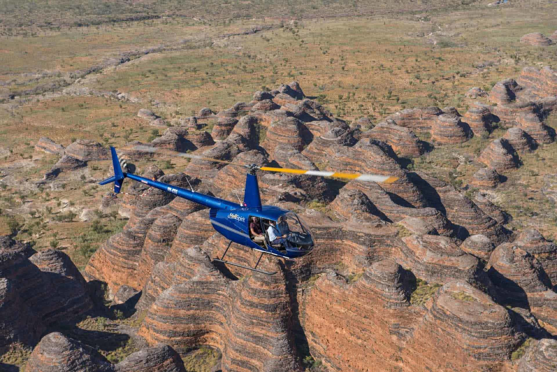 Piccaninny Gorge Heli Hike, Bungle Bungle Guided Tours, Helicopter