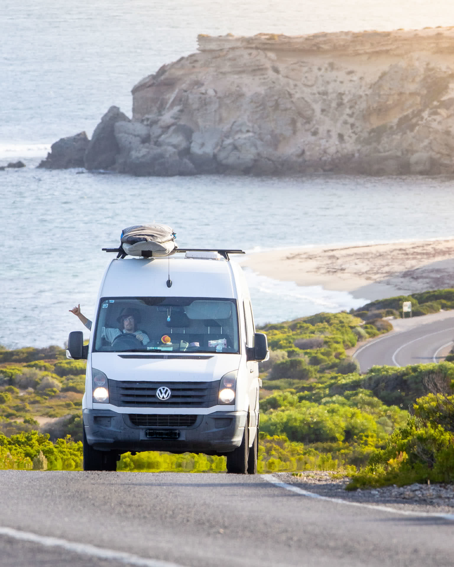 Stay Home Is the Order, but what if You're a Nomad?, photo by Ales Pokora, @framechasers, Eyre Peninsula, South Australia, van life