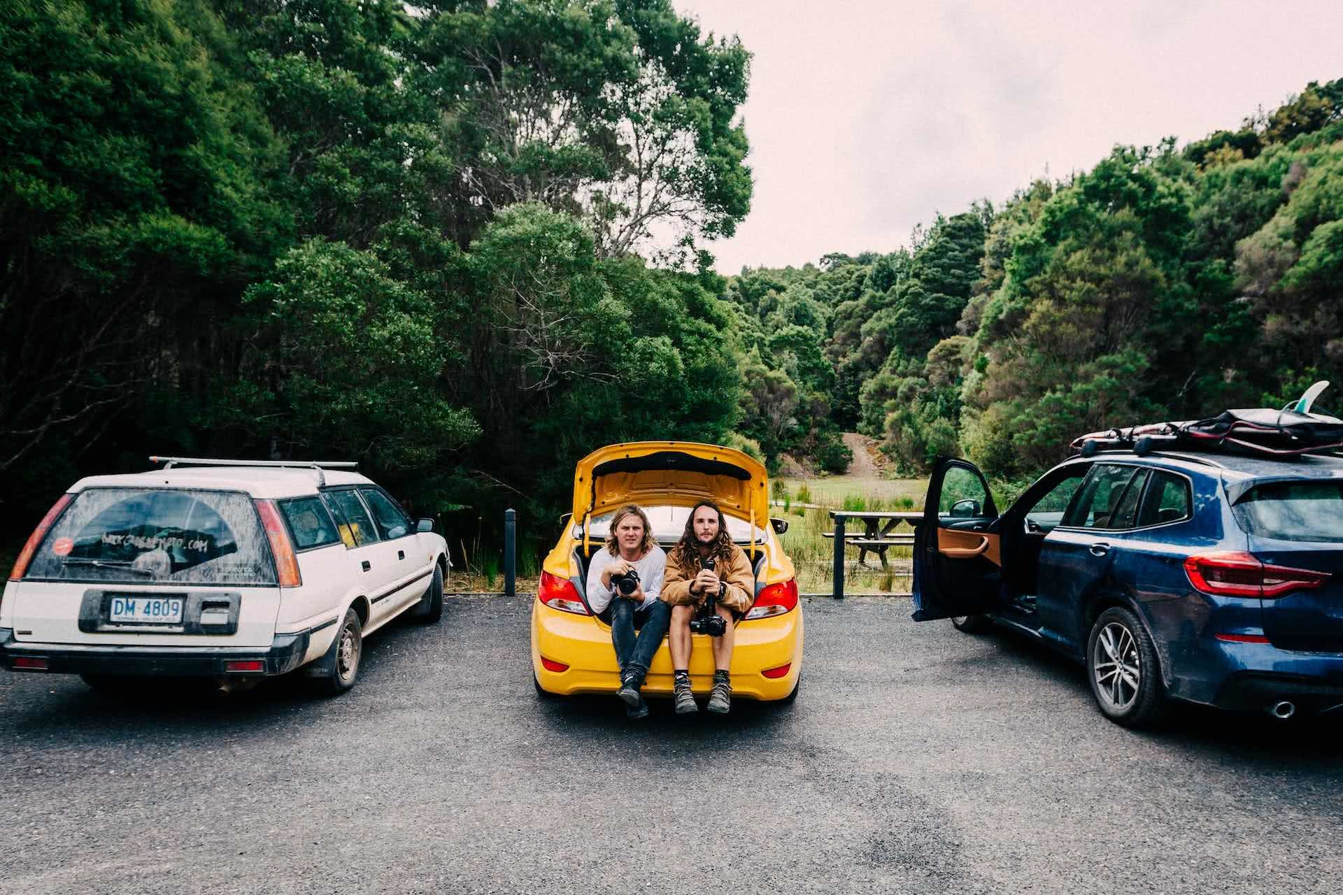 Stay Home Is the Order, but what if You're a Nomad?, photo by Henry Brydon, Tasmania, car camping, nomads