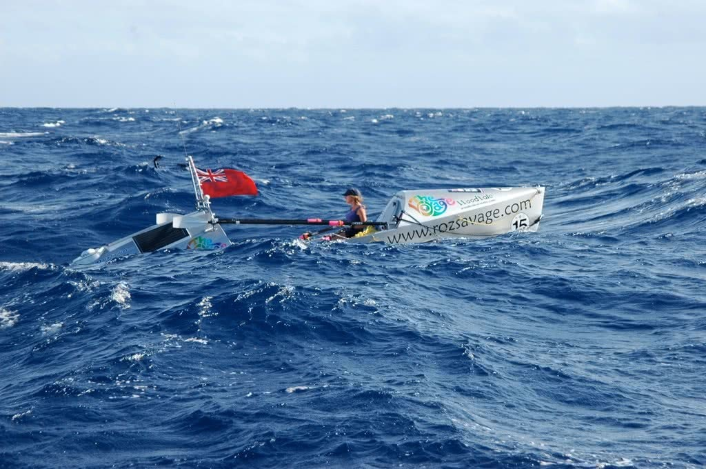 roz savage rowing the atlantic