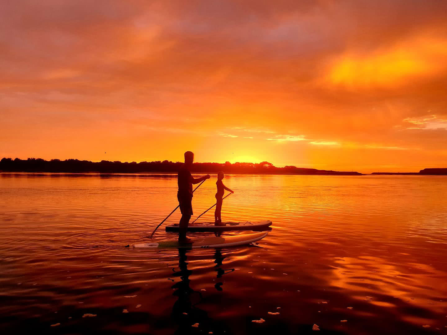 Stand Up Paddle Boarding Shellharbour, Tour, South Coast, SUP, Sunset