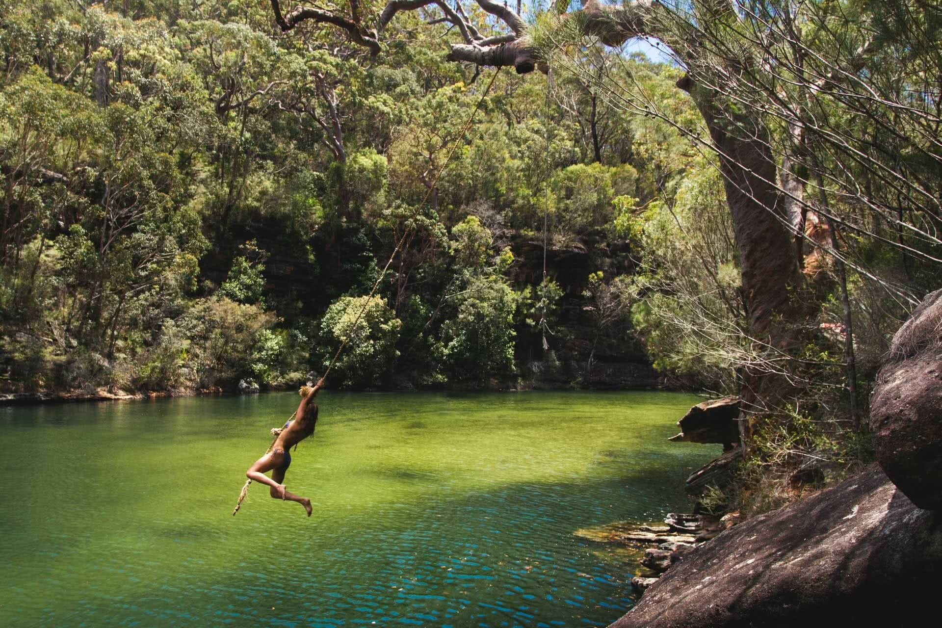 Jonathan Tan, South West Arms, Royal National Park, Rope Swing