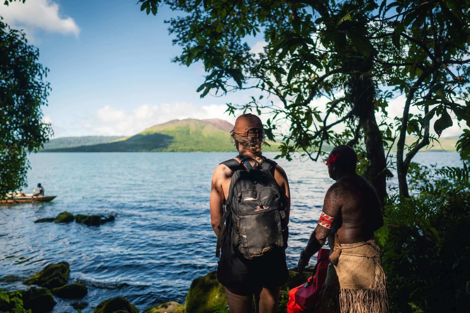 An Insider's Guide to Gaua, photos by Ben Savage and Ain Raadik, Ruby Claire, Vanuatu, island, chief, man, Lake Letas, Mt garet, rigger canoes