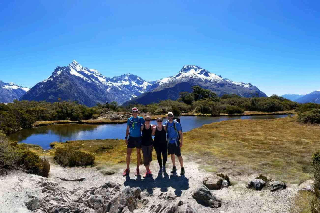 Active Adventures, Essence of the South Island 'Tui' Trip, Active Adventures, Group, Adventure Tours