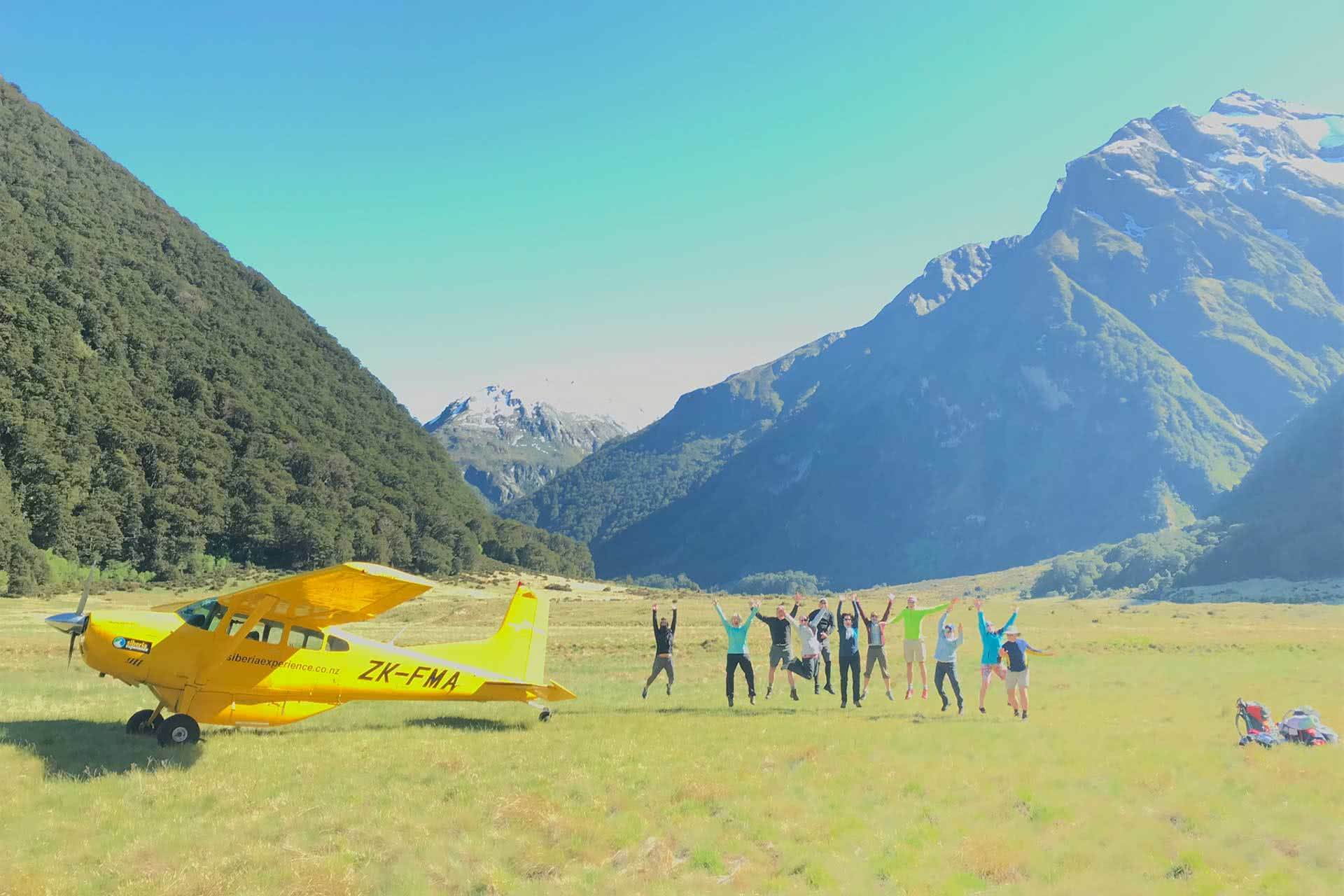 Active Adventures, Essence of the South Island 'Tui' Trip, Active Adventures, Group, Adventure Tours, Scenic Flight