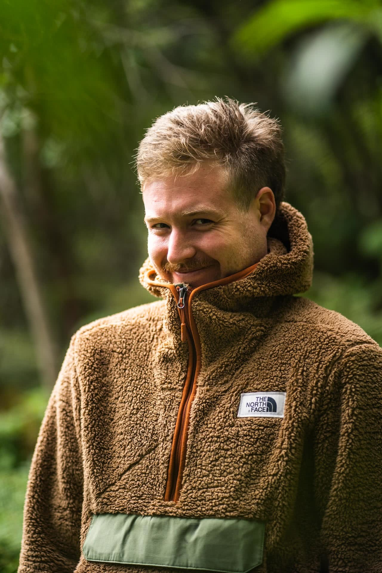 TNF Campshire Fleece-3, photo by @thetantrap, modelled by Tim Ashelford, berry island, nsw