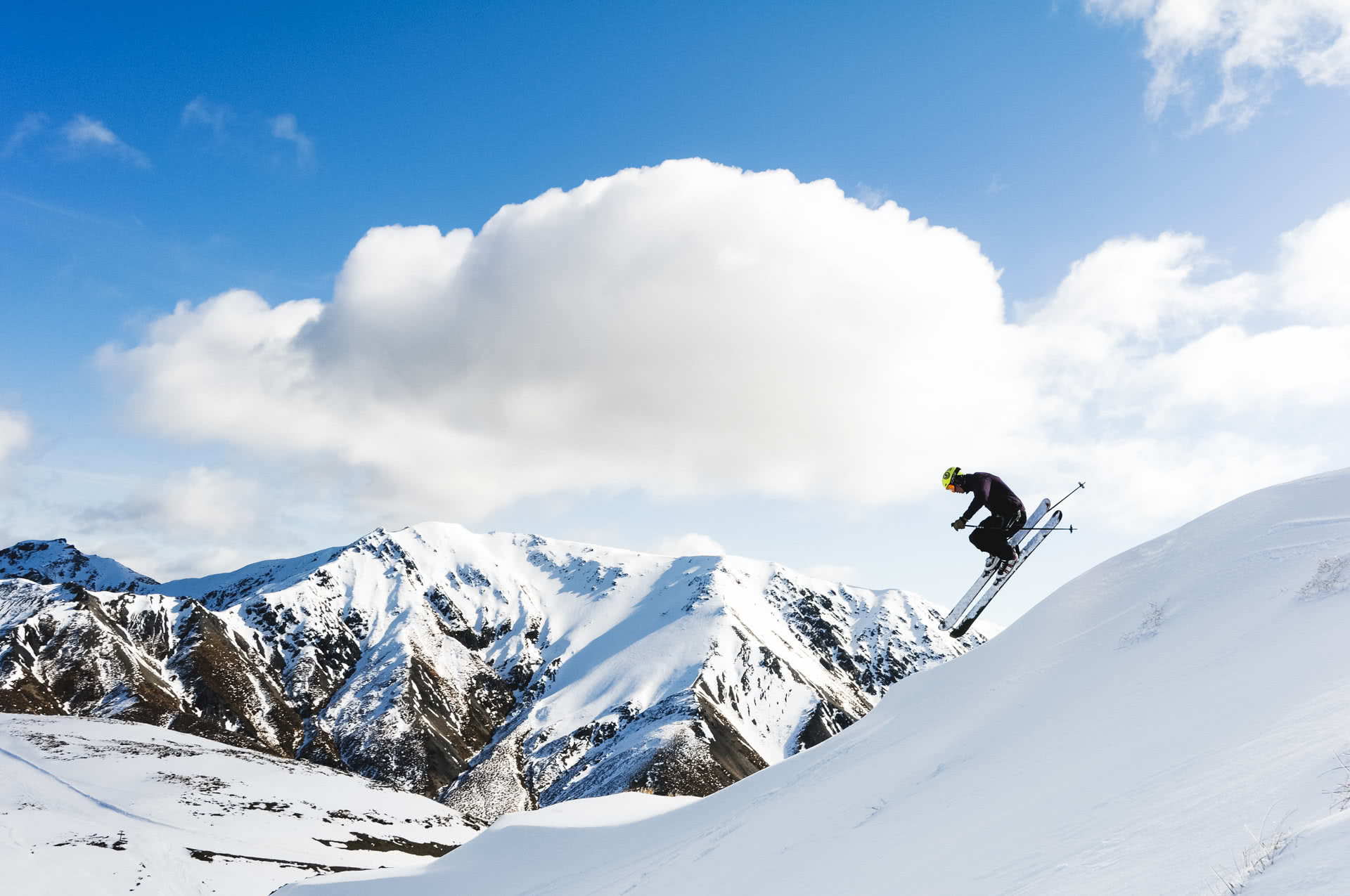 15 Taking the air at Mt Lyford, 24 Incredible Ski Fields & Resorts in New Zealand, Huw kingston, New Zealand, skiing, south island, jump