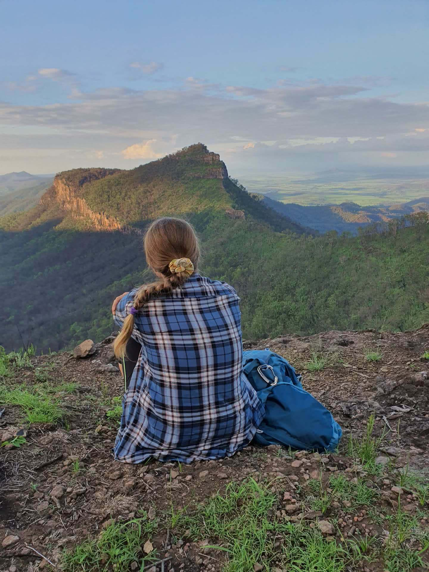 Mt Castle, hole in the wall, photo by Mitchell Quinn, main range national park, south east queensland