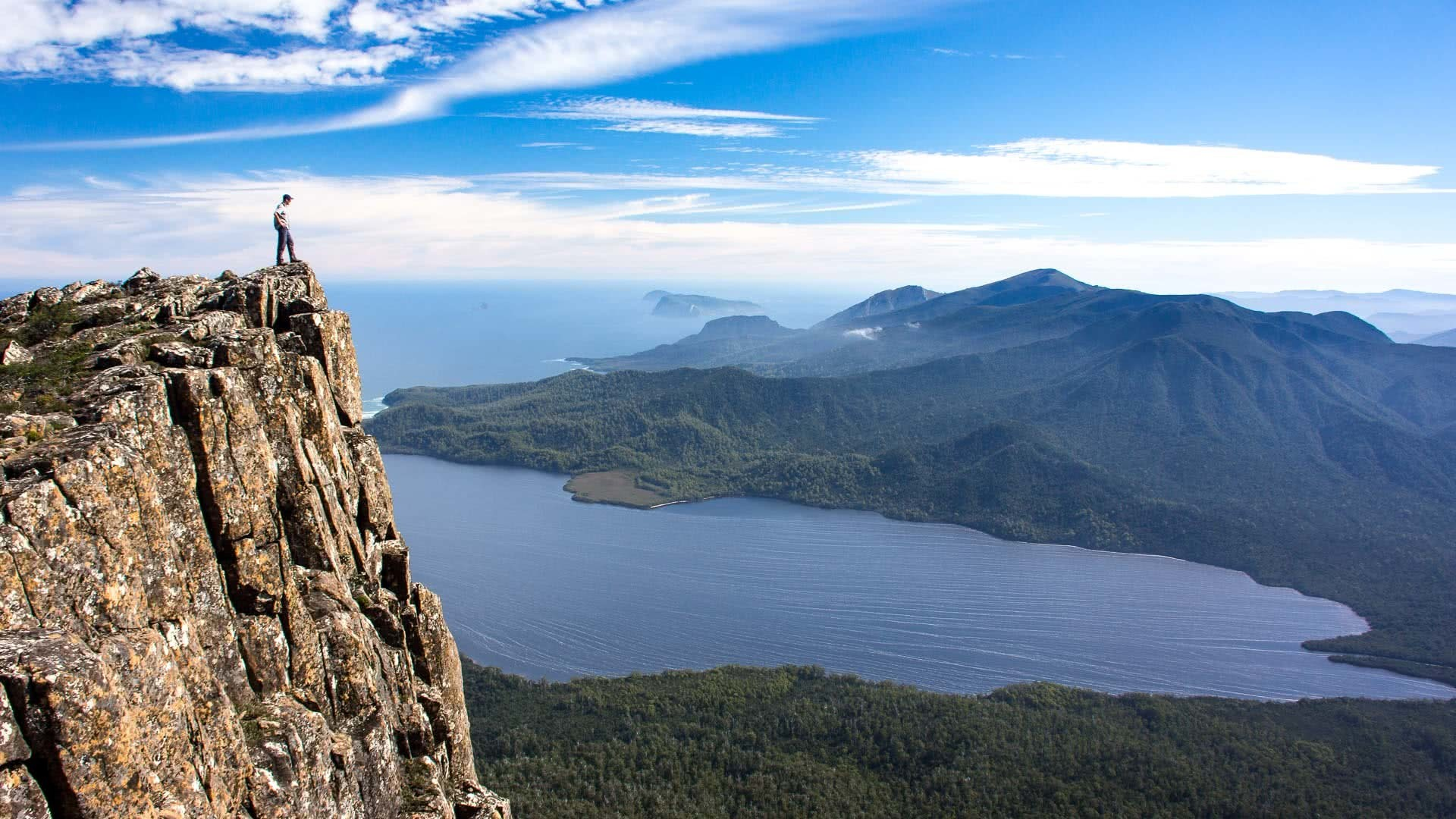southern coast, tasmania, nick stacey, best multi day hikes in tasmania