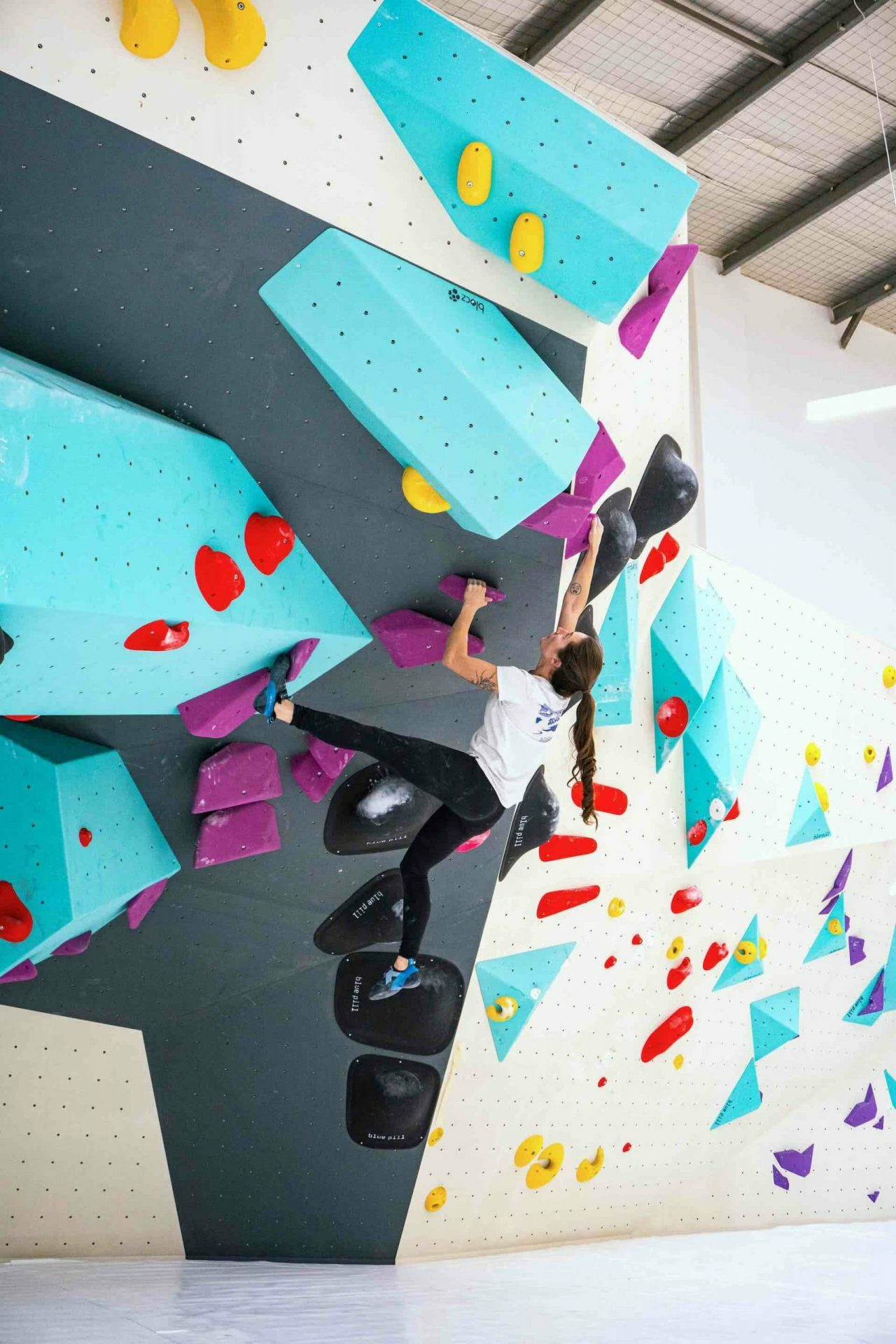 A New BlocHaus Bouldering Gym is Coming to Sydney!, photo supplied by BlocHaus, climbing gym, woman