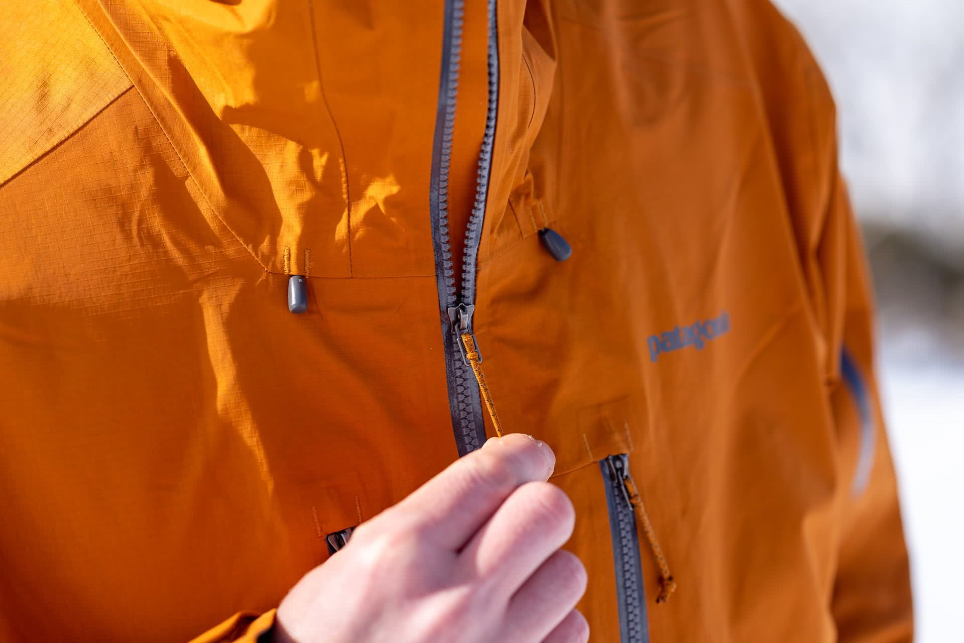 Patagonia Powslayer Jacket And Pants // Gear Review by Mattie Gould, photo by Jon Harris, splitboarding, snow, backcountry