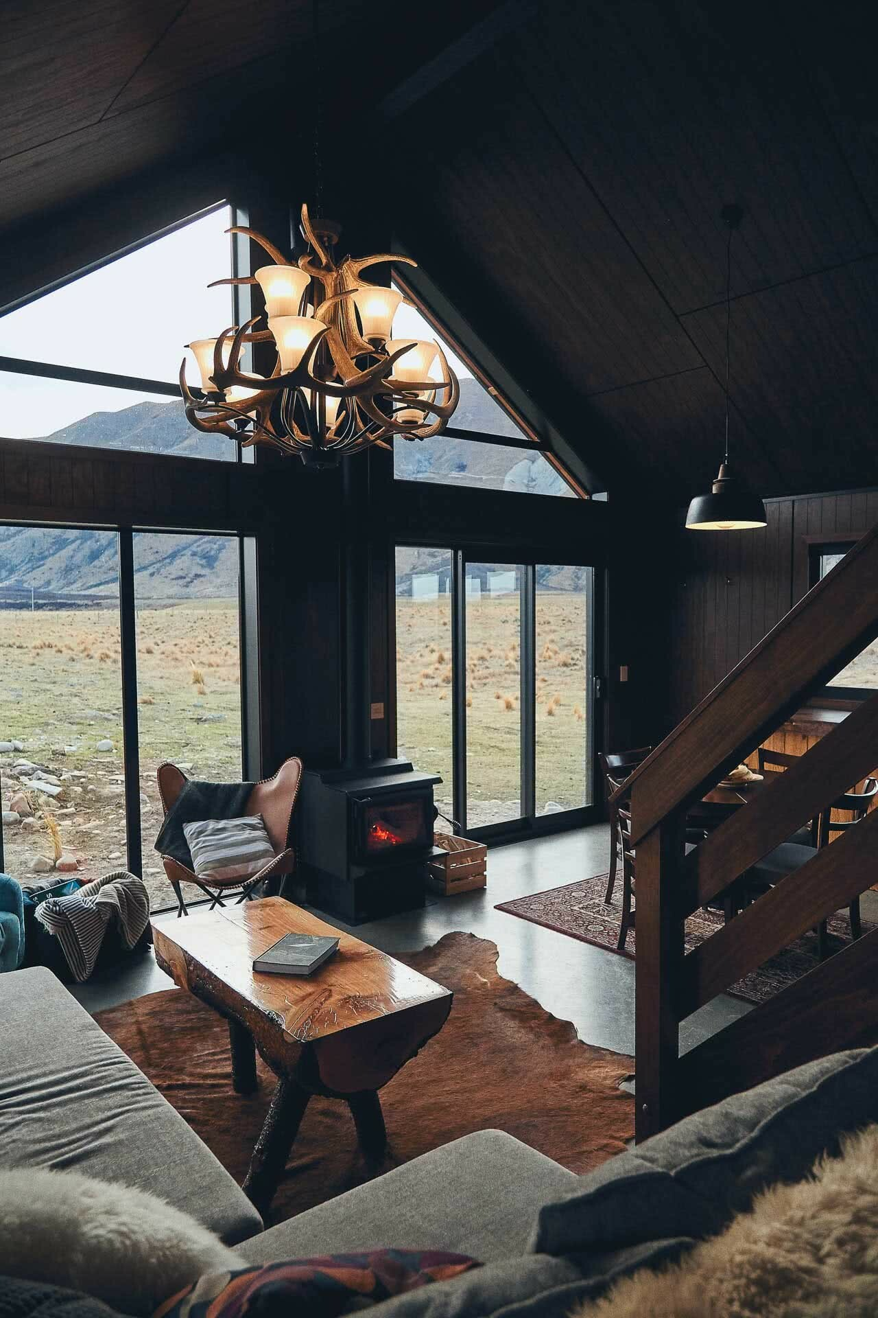 This High Country Cabin Offers the Wild Isolation We All Need Right Now, photo by Kenny Smith, cabin, isolation, twizel, south island, new zealand, interior