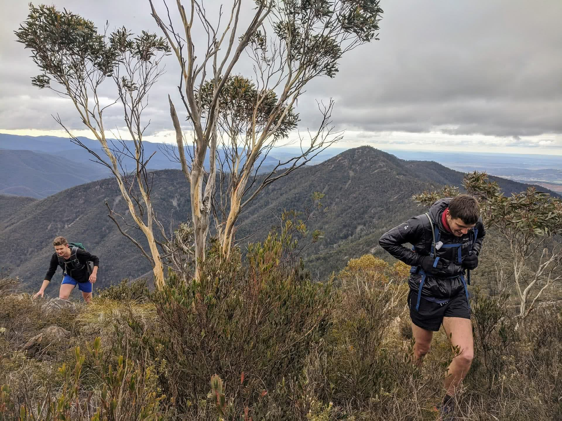 Route Guide, Peak Hopping Across Tidbinbilla Mountain, oliver Lilford, canberra, ACT