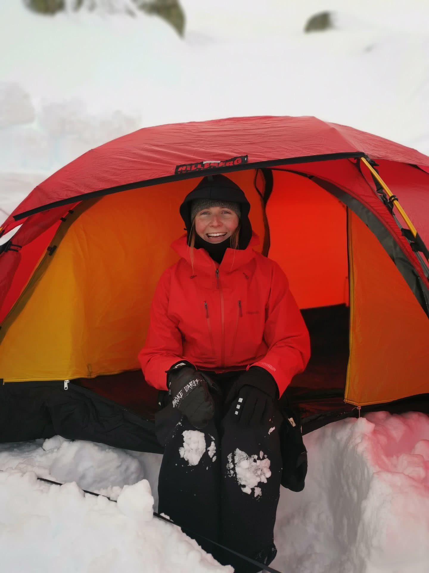 A Beginner's Guide to snow camping, Kate Donald, kosciuszko, jagungal, tent, snow, backcountry, nsw, tent, hilleberg