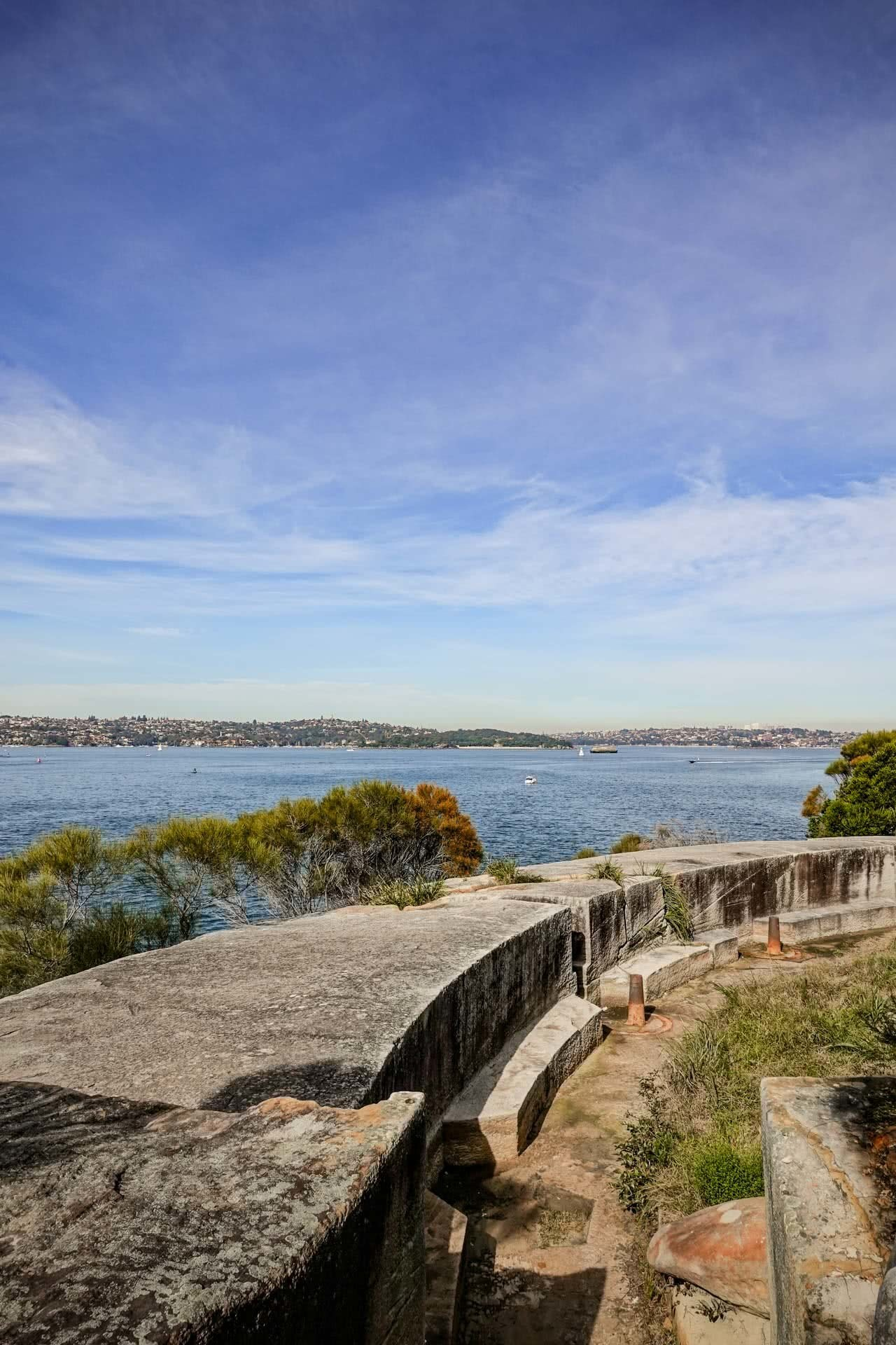 Bradleys Head to Middle Head is a Perfect Harbourside Hike (NSW), Daniel Piggott, Sydney Harbour, headland, military fortifications
