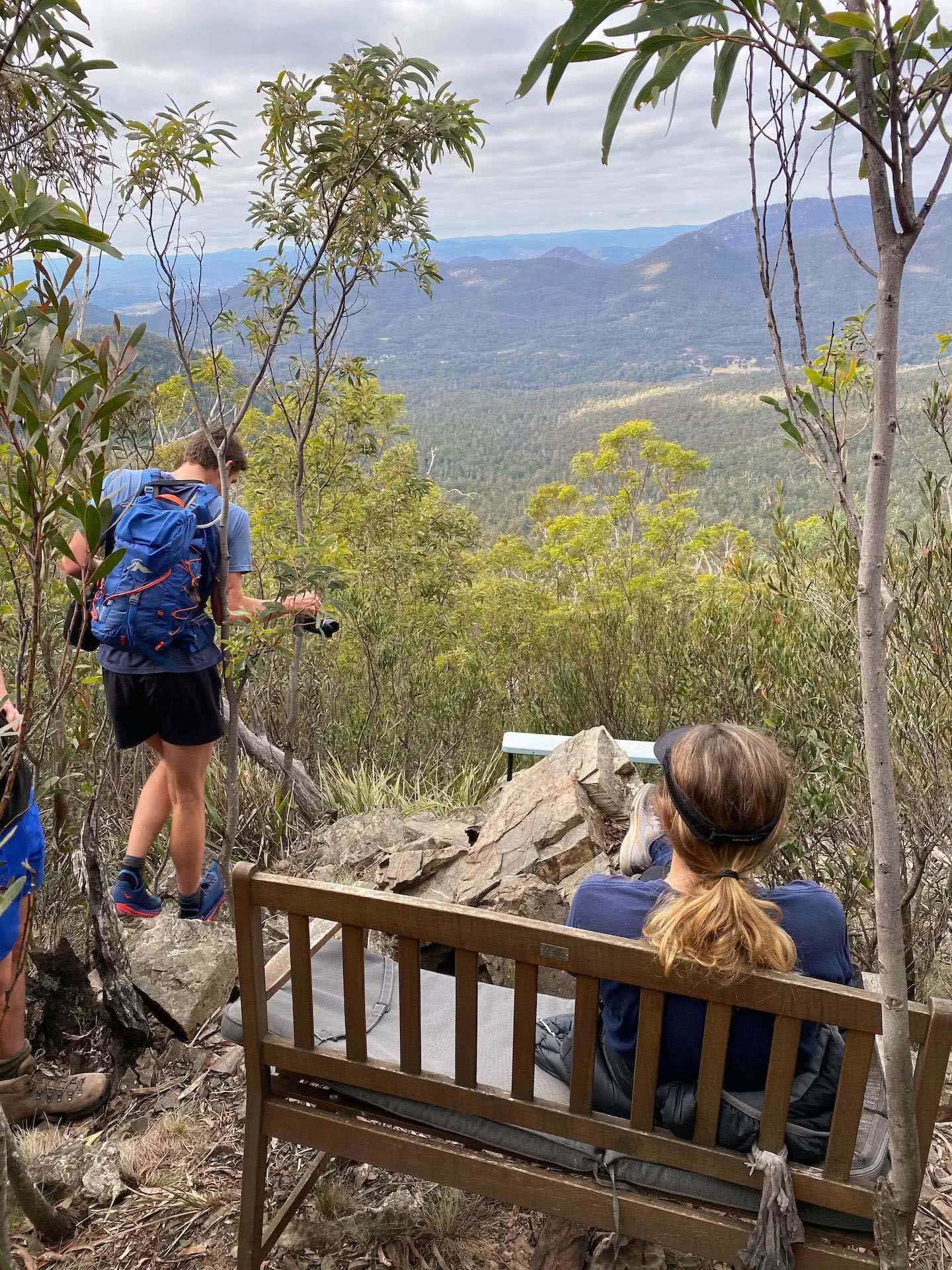 Route Guide, Peak Hopping Across Tidbinbilla Mountain, oliver Lilford, canberra, ACT, chair