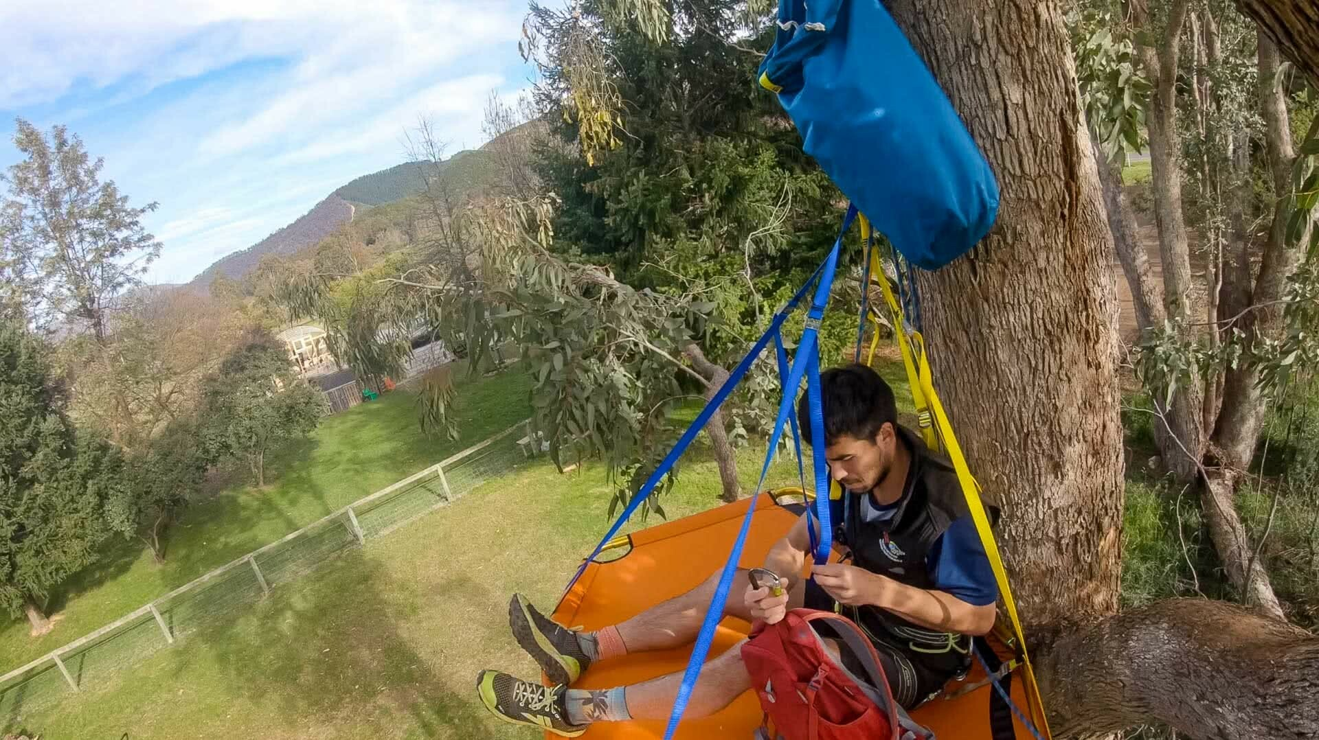 Stan Meissner - Lockdown Adventures - Day 6 - Tea in a Tree, Stan Meissner Has Done A Lockdown Adventure Every Day In Victoria,