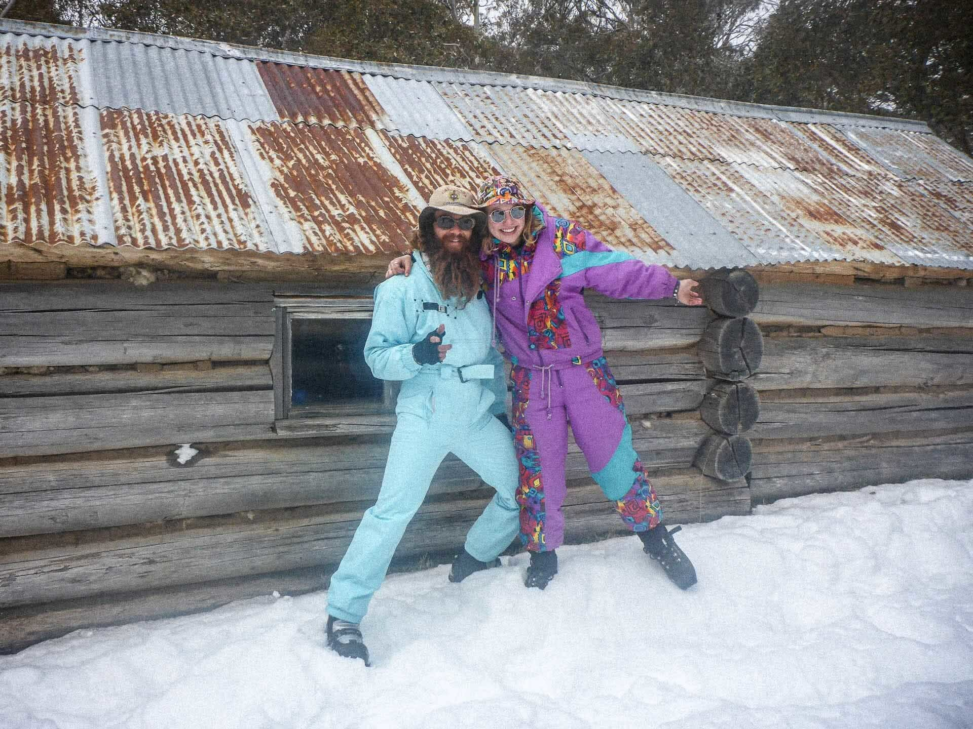 Because why not hike around with an extra 5kg funky ski outfit in your pack, 7 Things I Learned Living Without Technology for a Year, photo by Pippa Salmon, victorian high country