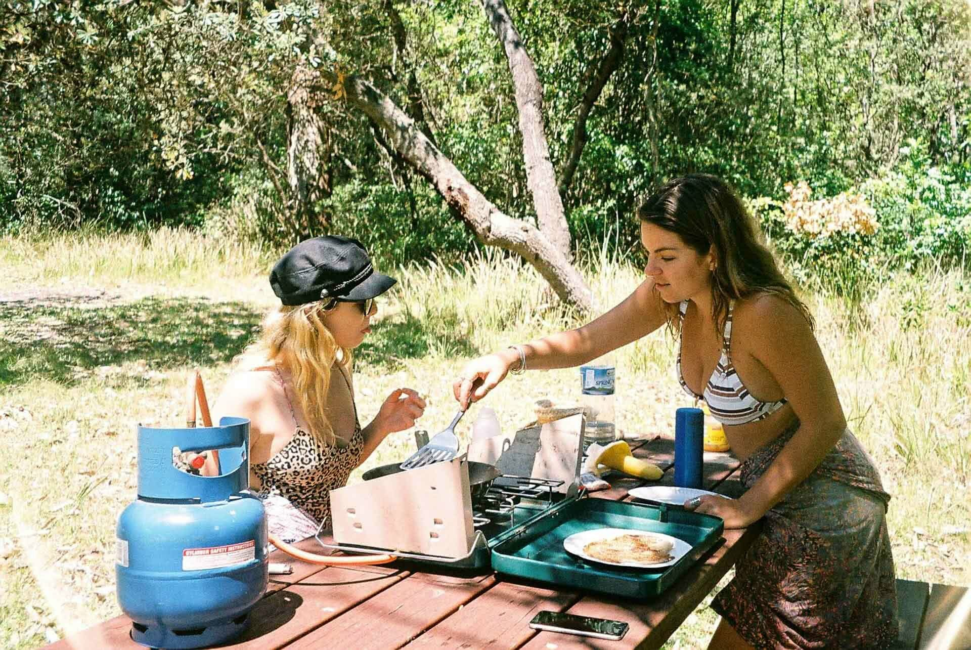 Cooking, 7 Things to Do on the Long Weekend when Campsites Are Booked Out, ruby bisson, film photography