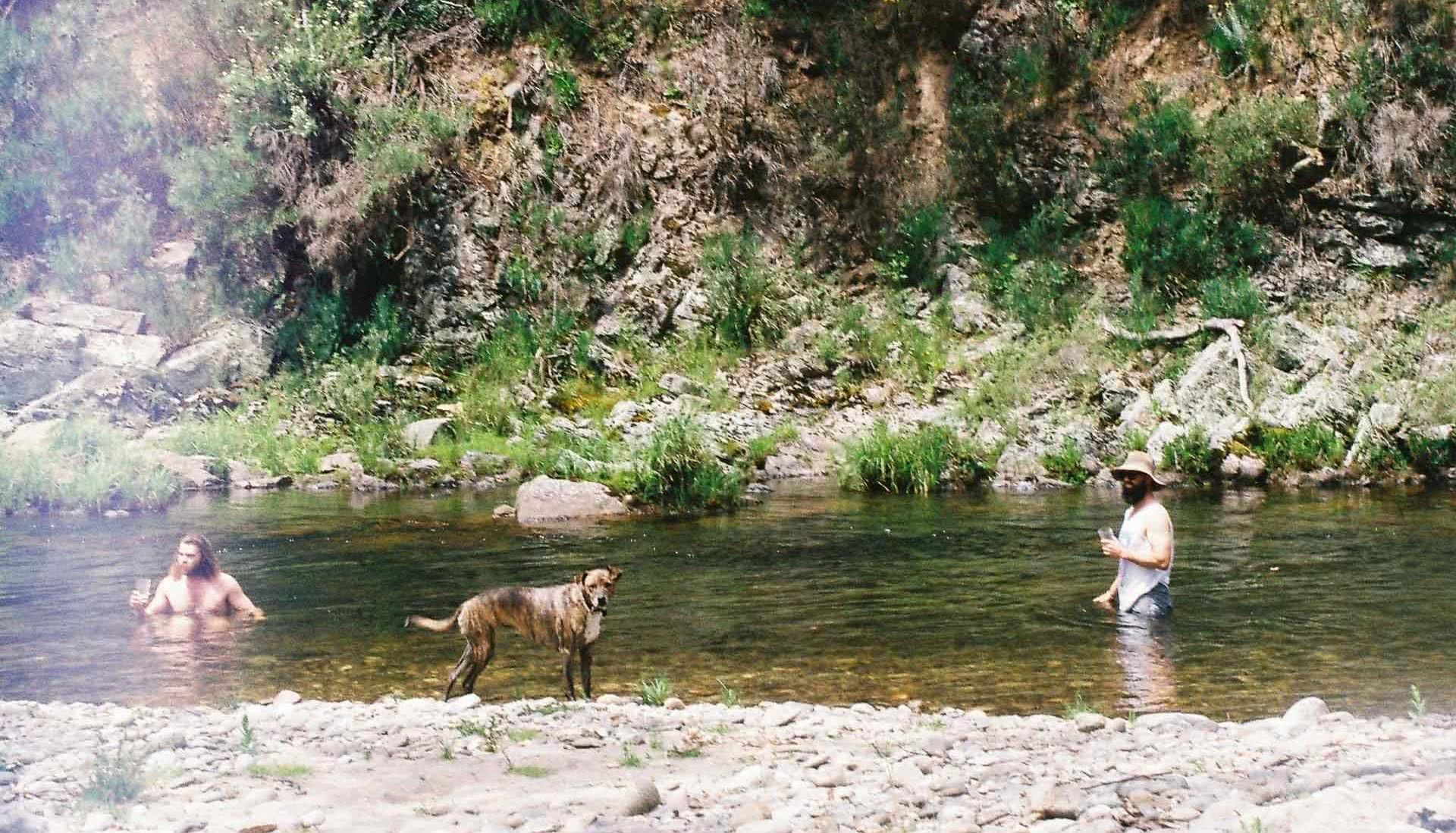River swims, 7 Things I Learned Living Without Technology for a Year, photo by Pippa Salmon, victorian high country