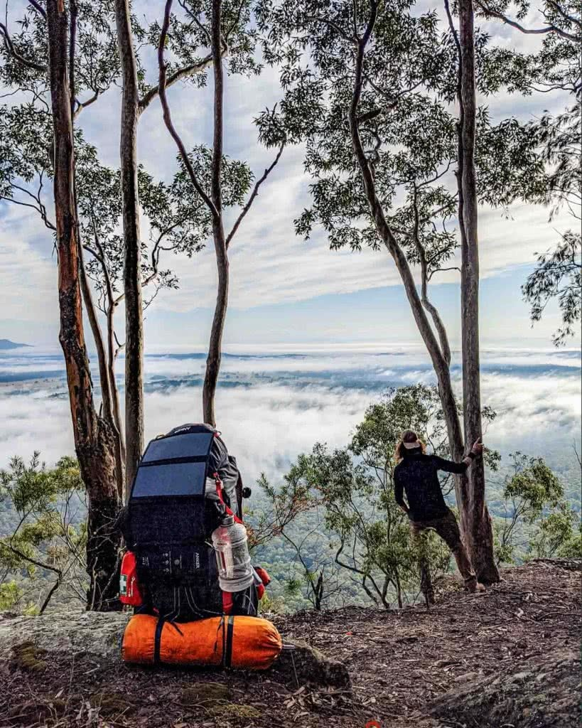 Hiking the Great North Walk – Sydney's 250km Thru Hike, jason reeves, sydney to newcastle, nsw, lookout