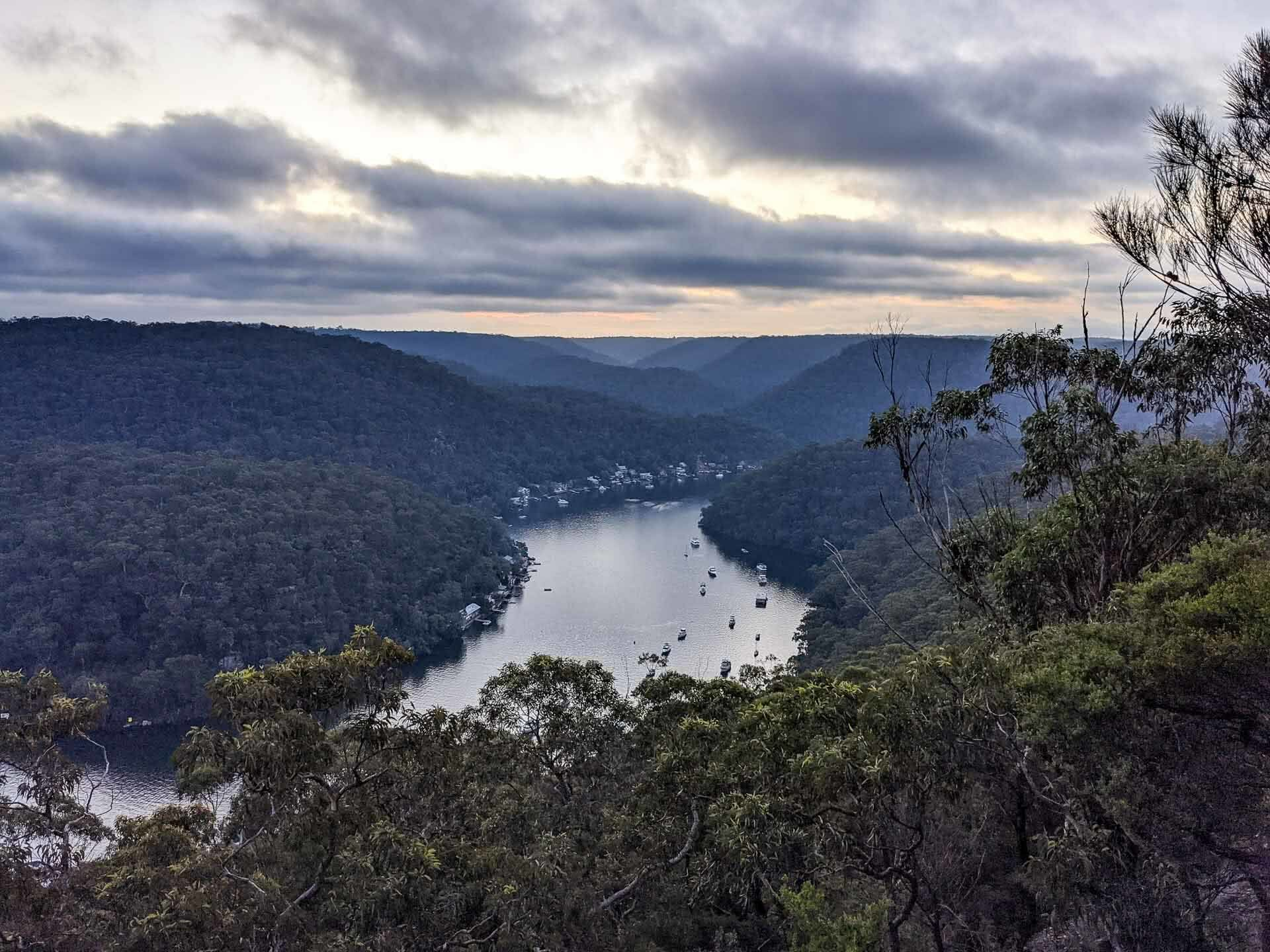 Hiking the Great North Walk – Sydney's 250km Thru Hike, jason reeves, sydney to newcastle, nsw, berrowra waters