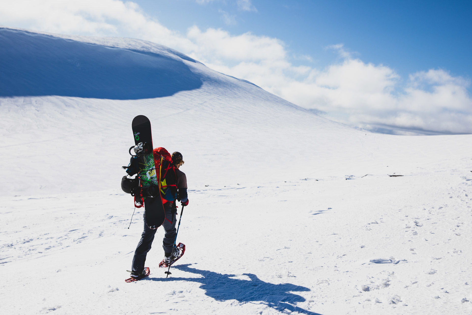 Sea to Summit in Australia – All In A Day's Work, guy williment, snow shoe, snowboard, backcountry, nsw
