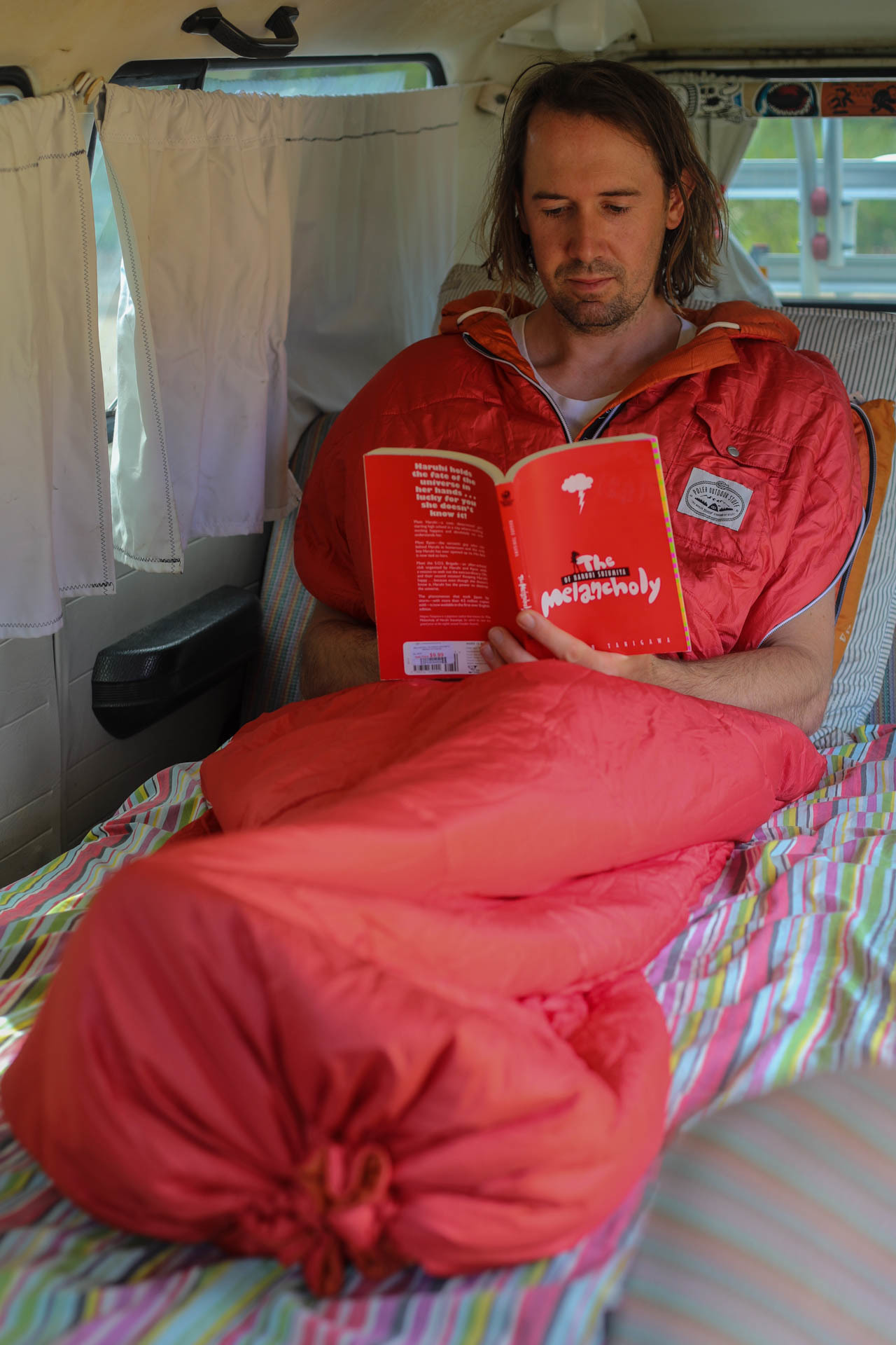 The Reversible Napsack by Poler // Gear Review, mattie gould, sleeping bag, jacket, who knows,
