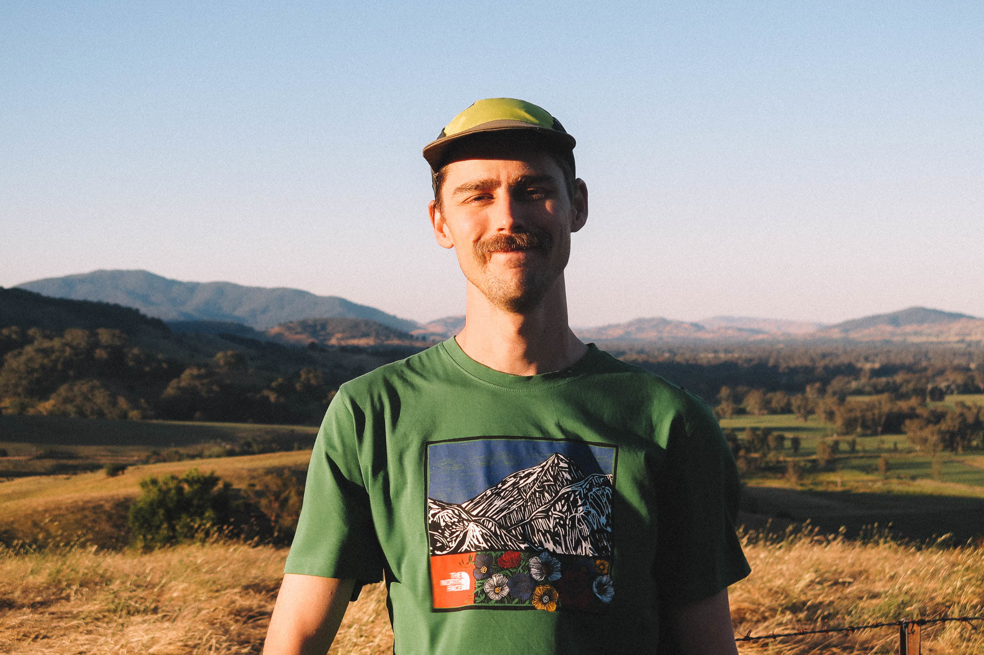 These Three Legends Are Resetting Normal – And You Can Too, kale munro, the north face tee, victorian high country