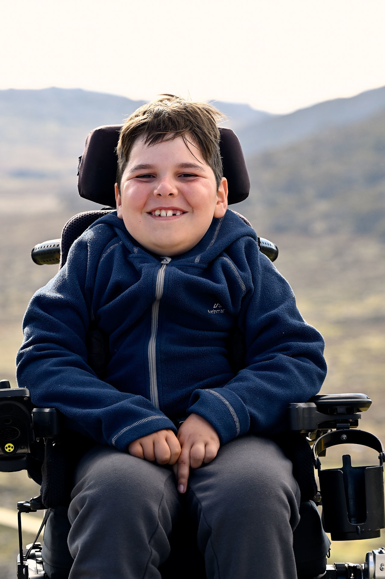 Josh a little boy with a big heart and an adventurous spirit, 4 Ideas for Accessible Adventures in NSW, joe kennedy, kosciuszko national park, summit track