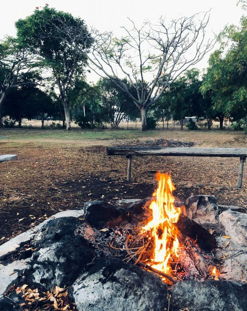 Mt Surprise Campfire, Steph Henderson, the Savannah Way, northern territory through western Queensland