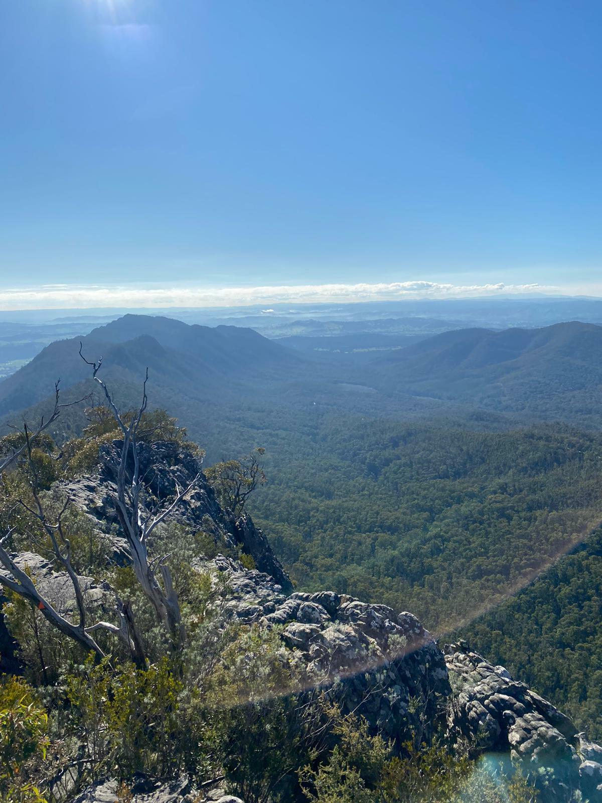 The Best Day Trips From Melbourne, Arden Haar, Sugarloaf Peak, view, mountains