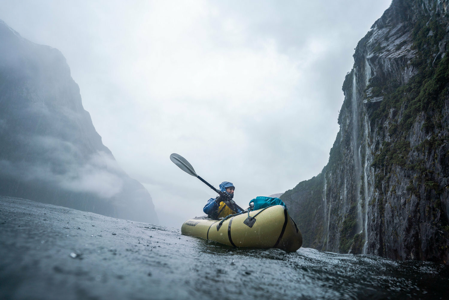 coralie fleming, packrafting, new zealand, the north face adventure grant